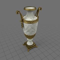 Decorative French vase