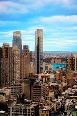 Urban Light - New York City - Illustration - Midtown Manhattan