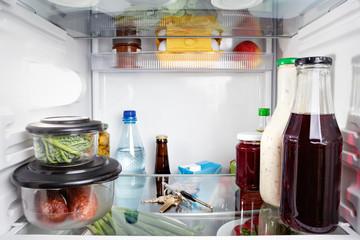 Schlüssel liegt im Kühlschrank