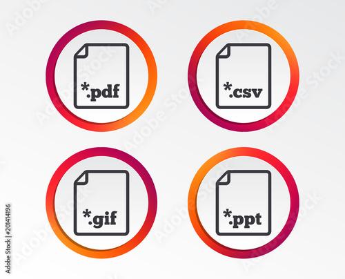 Download document icons file extensions symbols pdf gif csv and download document icons file extensions symbols pdf gif csv and ppt presentation toneelgroepblik Images