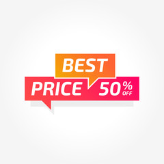 Best Price 50% Off Commercial Tag