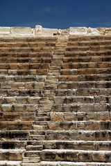 Printed roller blinds Ruins Steps through amphitheatre at Kourion