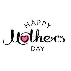 Happy Mother's Day handwritten inscription