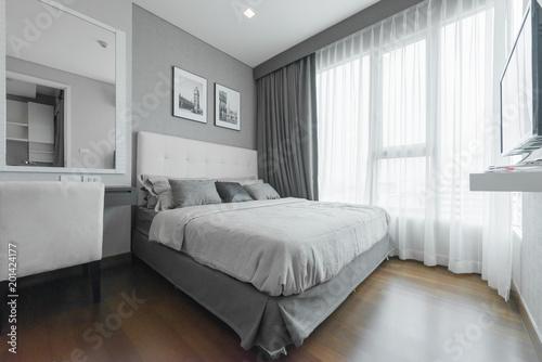 Beautiful Interior Design Modern Bedroom Stockfotos Und Lizenzfreie Mesmerizing Beautiful Interior Designs