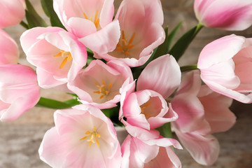 Beautiful tulips for Mother's Day, closeup