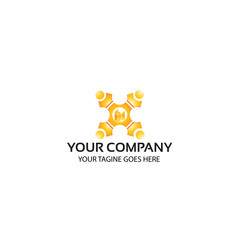 teamwork - logo template
