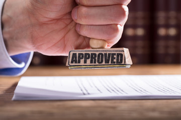 Judge Approving Contract Form
