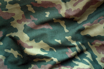 Military uniform pattern.