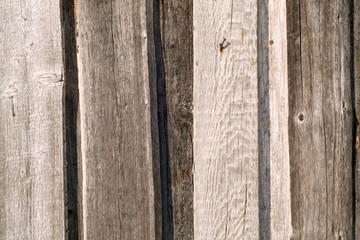 Old wooden fence pattern.