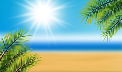 Hintergrund Strand Sonne