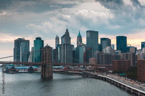 Wall mural New-York skyline