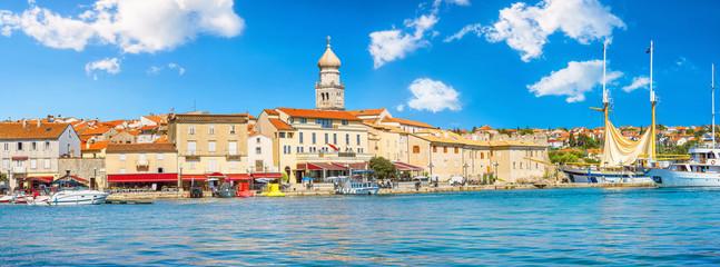 Old town Krk. Island Krk, Croatia