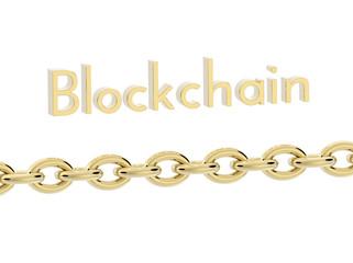 blockchain 3D rendering 1