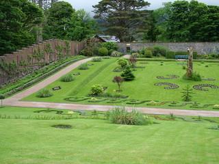 Victorian Walled Garden of Kylemore, Ireland