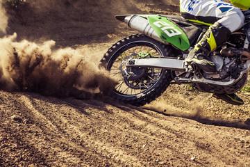 Acrylic Prints Motor sports Professional dirt bike rider