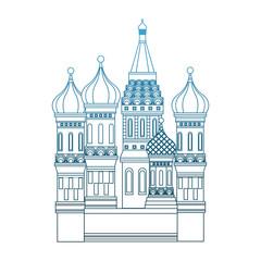 Kremlin tower building vector illustration graphic design