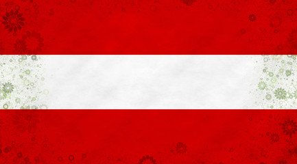Illustration of an Austrian flag