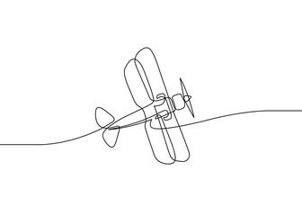 biplane one line