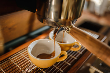 Make coffee cup