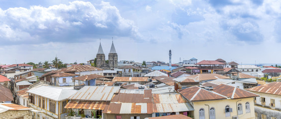 View over stone town