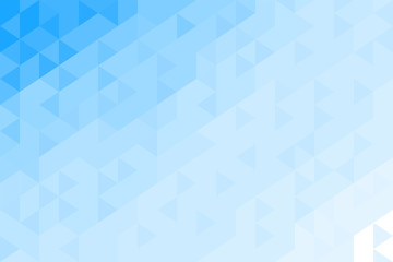 Abstract geometric pattern from triangles. Blue sky, water. Back plan. Vector illustration.
