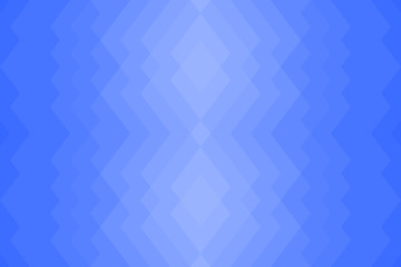 Abstract geometric seamless  pattern from triangles. Blue sky, water. Back plan. Vector illustration.