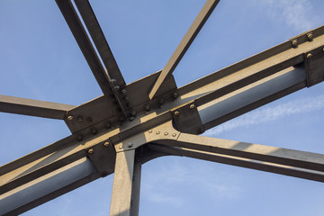 Stahlkonstruktion, Fachwerk