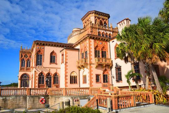 Ringling Museum Mansion Ca' Zan in Sarasota Florida