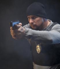 Law Enforcement Agent Studio Shoot 4