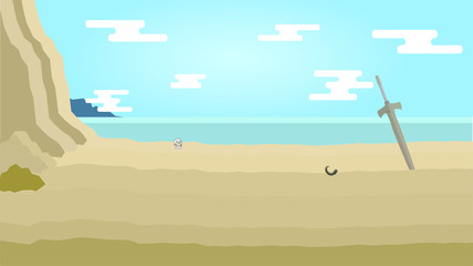 RPGの戦闘画面背景