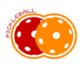 pickleball icon design