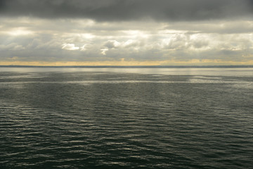 Calm seas on Port Phillip Bay