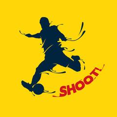 football shoot splash