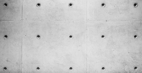 Fototapete - Gray concrete wall, background texture