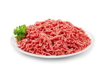 Hackfleisch auf Teller
