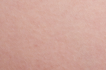 Texture of pink human skin