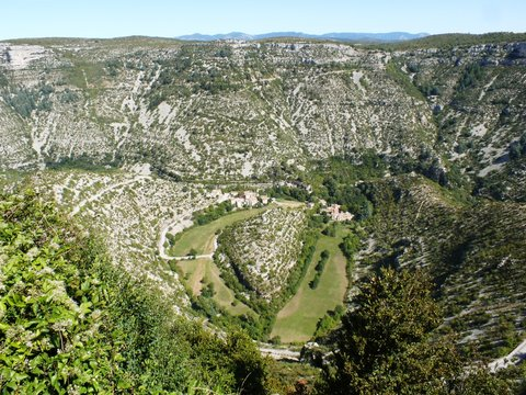 Cirque de Navacelles département du Gard en France