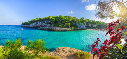 Wall Mural - View of  Cala Llombards, Mallorca Island, Spain