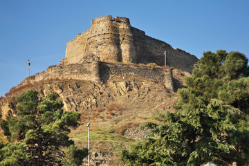 Goris Tsikhe fortress in Gori. Shida Kartli mkhare. Georgia Wall mural