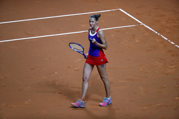 Fed Cup - World Group Semi Final - Germany vs Czech Republic