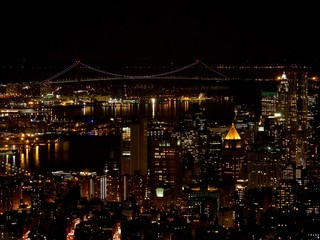 New York City la nuit