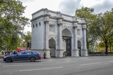 London, UK, 1 November 2012: Hyde Park Corner