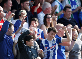League One - Fleetwood Town v Wigan Athletic