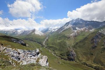Digor gorge in North Ossetia-Alania, Russia