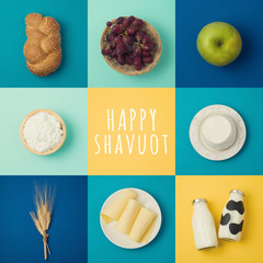 Jewish holiday Shavuot concept