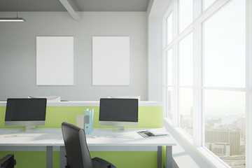 bright coworking office