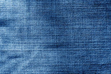 Jeans cloth pattern in navy blue color.