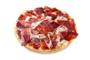 Tapa de jamon iberico