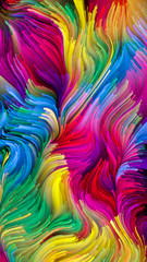 Unfolding of Liquid Color