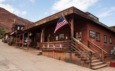 Old Wild West Cowboy Town